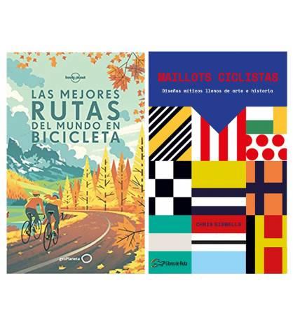 """Pack promocional """"Maillots ciclistas"""" + """"Las mejores rutas en bicicleta"""""""