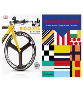 "Pack promocional ""Maillots ciclistas"" + ""El libro de la bicicleta"""