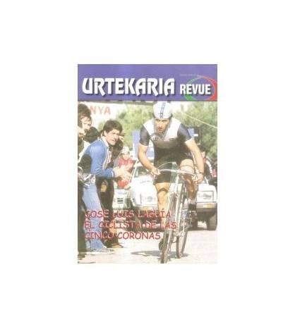 Urtekaria Revue, num. 26. Jose Luis Laguía, el ciclista de las 5 coronas Revistas Revue 26 Javier Bodegas