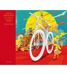 Viaje al fin del mundo en bicicleta Ilustraciones 978-84-16497-13-3 Shan Jiang