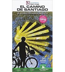 El Camino de Santiago: El Camino Francés en bicicleta Camino de Santiago 978-8494668715 Bernard Datcharry, Valeria H. Mardone...