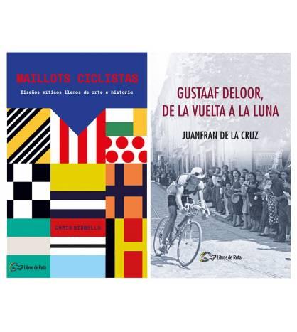 Pack promocional Maillots ciclistas + Gustaaf Deloor, de la Vuelta a la luna