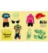 Bicicletas de carreras Ilustraciones 978-84-948644-1-4 Nick Higgins