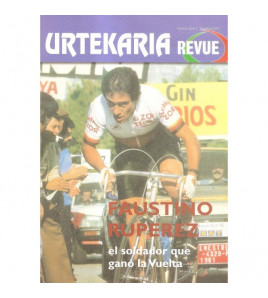 Urtekaria Revue, num. 30. Faustino RUPÉREZ, el soldador que ganó la Vuelta Revistas Revue 30 Javier BodegasJavier Bodegas
