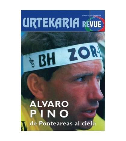 Urtekaria Revue, num. 32. Alvaro PINO, de Ponteareas al cielo. Revistas Revue 32 Javier Bodegas