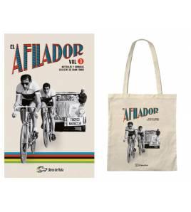 "Pack promocional ""El Afilador Vol. 3"" + tote bag Packs en promoción Libros de Ruta"