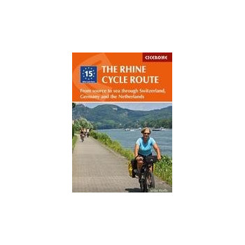 The Rhine Cycle Route Guías / Viajes 978-1-85284-899-6
