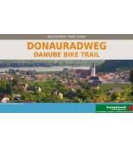 Danube Bike Trail Passau-Viena-Bratislava Bike Guide 1:125:000