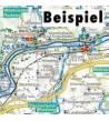 La Ruta de Mozart en bicicleta Mapas y altimetrías 978-3-7079-0499-4
