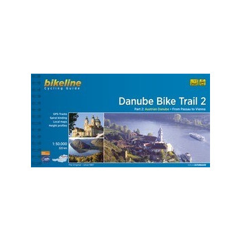 Danube Bike Trail Guide 2. Austrian Danube from Passau to Vienna Guías / Viajes 978-3-85000-160-1