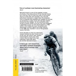 The Badger. Bernard Hinault and the Fall and Rise of French Cycling Inglés 978-0224092050 William FotheringhamWilliam Fotheri...