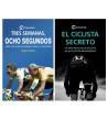 """Pack promocional """"El ciclista secreto"""" + """"Tres semanas, ocho segundos"""" Packs en promoción Libros de Ruta"""
