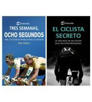 "Pack promocional ""El ciclista secreto"" + ""Tres semanas, ocho segundos"""