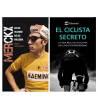 "Pack promocional ""El ciclista secreto"" + ""Merckx. Mitad hombre, mitad máquina"" Packs en promoción Libros de Ruta"