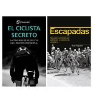 """Pack promocional """"El ciclista secreto"""" + """"Escapadas"""""""