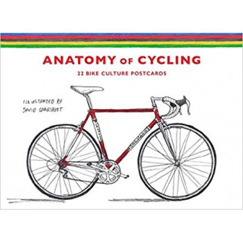 The Anatomy of Cycling: 22 Bike Culture Postcards Otros productos 9781786272324