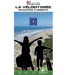 La Vélodyssée. De Nantes a Hendaya Guías / Viajes 984-84-121184-0-7 Bernard Datcharry, Valeria H. Mardones