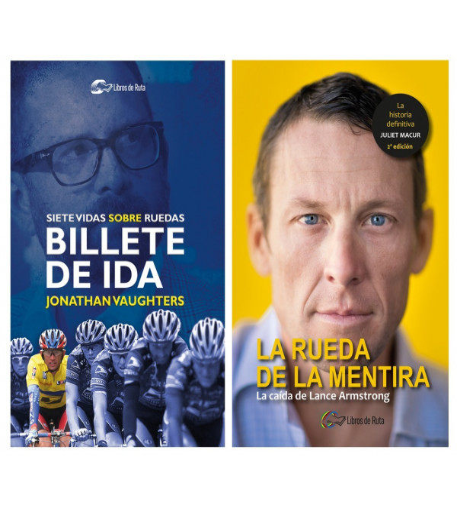 """Pack promocional """"Billete de ida"""" + """"La rueda de la mentira"""" Packs en promoción Libros de Ruta"""