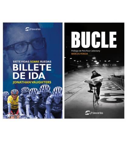 """Pack promocional """"Billete de ida"""" + """"Bucle"""" Packs en promoción Libros de Ruta"""