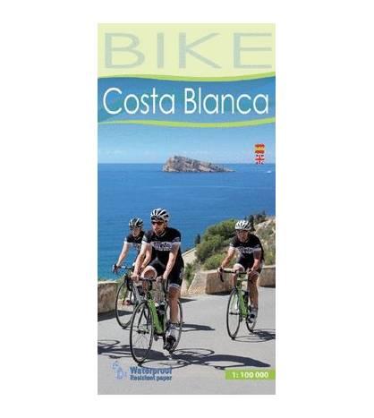 Bike Costa Blanca. Mapa cicloturista Mapas y altimetrías 9788480908023