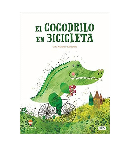 El cocodrilo en bicicleta Infantil 978-84-18127-08-3