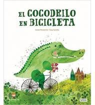 El cocodrilo en bicicleta