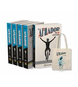 Pack promocional colección completa EL AFILADOR + tote bag