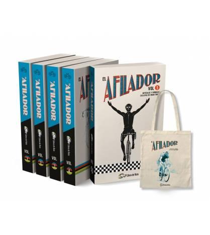 Pack promocional colección completa EL AFILADOR + tote bag Packs en promoción Libros de Ruta