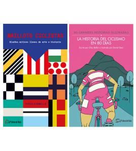 Pack promocional Maillots ciclistas + La historia del ciclismo en 80 días Packs en promoción