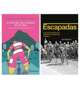 Pack promocional La historia del ciclismo en 80 días + Escapadas
