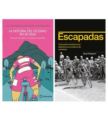 Pack promocional La historia del ciclismo en 80 días + Escapadas Packs en promoción
