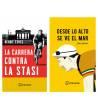 Pack promocional La carrera contra la Stasi + Desde lo alto se ve el mar Packs en promoción