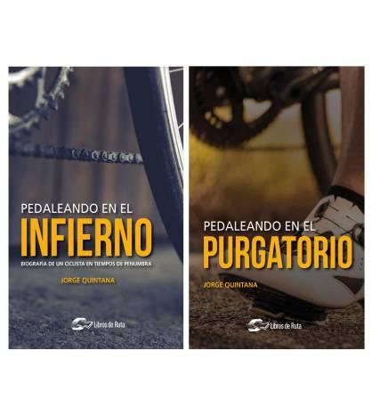 """Pack promocional """"Pedaleando en el infierno"""" + """"Pedaleando en el purgatorio"""" Packs en promoción Libros de Ruta"""