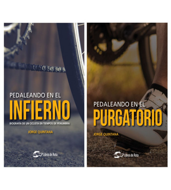 """Pack promocional """"Pedaleando en el infierno"""" + """"Pedaleando en el purgatorio"""""""