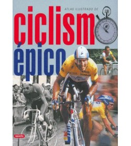 Atlas ilustrado de ciclismo épico