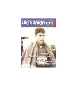 Urtekaria Revue, num. 2. Ventura Díaz, ciclista de los pies a la cabeza. Los tres bronces de Juan Fernández