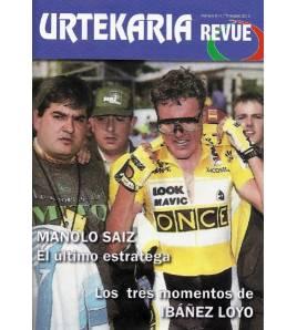 Urtekaria Revue, num. 6. Manolo Saiz, el último estratega. Los tres momentos de Ibáñez Loyo Revistas Revue6 Javier Bodegas