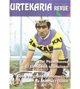 Urtekaria Revue, num. 3. José Pesarrodona, el campeón silencioso. Los tres grandes momentos de Martínez Oliver