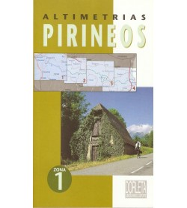 Altimetrías Pirineos Zona 1 Mapas y altimetrías 84-87812-35-5 Jacques RouxJacques Roux