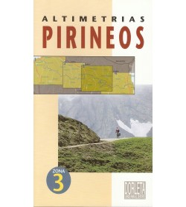Altimetrías Pirineos Zona 3 Mapas y altimetrías 9788487812333 Jacques Roux