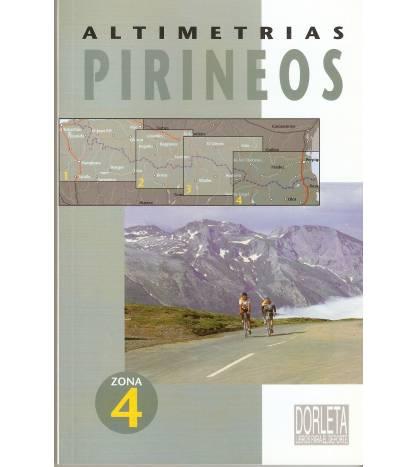 Altimetrías Pirineos Zona 4 Mapas y altimetrías 9788487812415 Jacques Roux