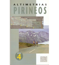 Altimetrías Pirineos Zona 4