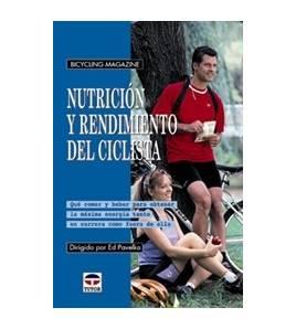 Nutrición y rendimiento del ciclista Salud / Nutrición 84-7902-389-9  Ed PavelkaEd Pavelka