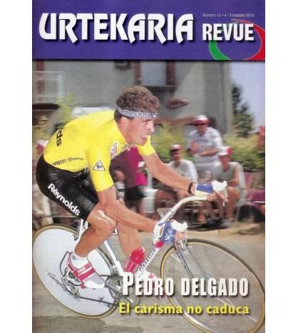 Urtekaria Revue, num. 13. Pedro Delgado, el carisma no caduca Revistas Revue 13 Javier Bodegas