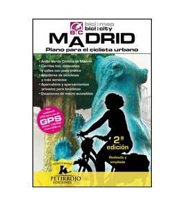 Madrid, plano para el ciclista urbano