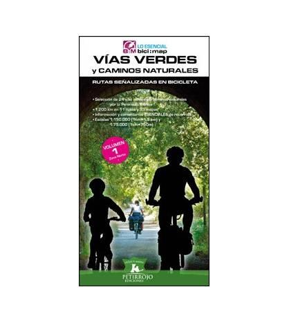 Vías Verdes y Caminos Naturales. Volumen 1. Zona Norte Guías / Viajes 978-84-940952-3-8 Bernard Datcharry, Valeria H. Mardones