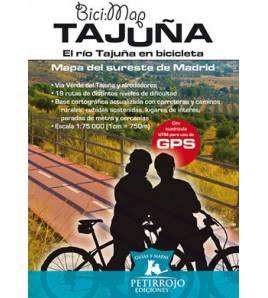 El río Tajuña en bicicleta Mapas y altimetrías 978-84-615-7459-9  Bernard Datcharry, Valeria H. Mardones Bernard Datcharry, V...