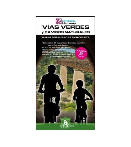 Vías Verdes y Caminos Naturales. Rutas señalizadas en bicicleta - Volumen 2 Zona Sur Guías / Viajes 978-84-940952-4-5 Bernar...