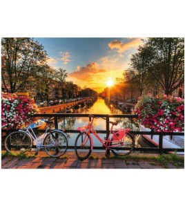 Puzzle 1000 piezas Bicicletas en Amsterdam Puzzles/Juegos de mesa 8699375061543