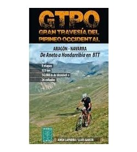 Gran Travesía del Pirineo Occidental Guías / Viajes 9788480905916 Jordi Laparra y Lluís GarcíaJordi Laparra y Lluís García